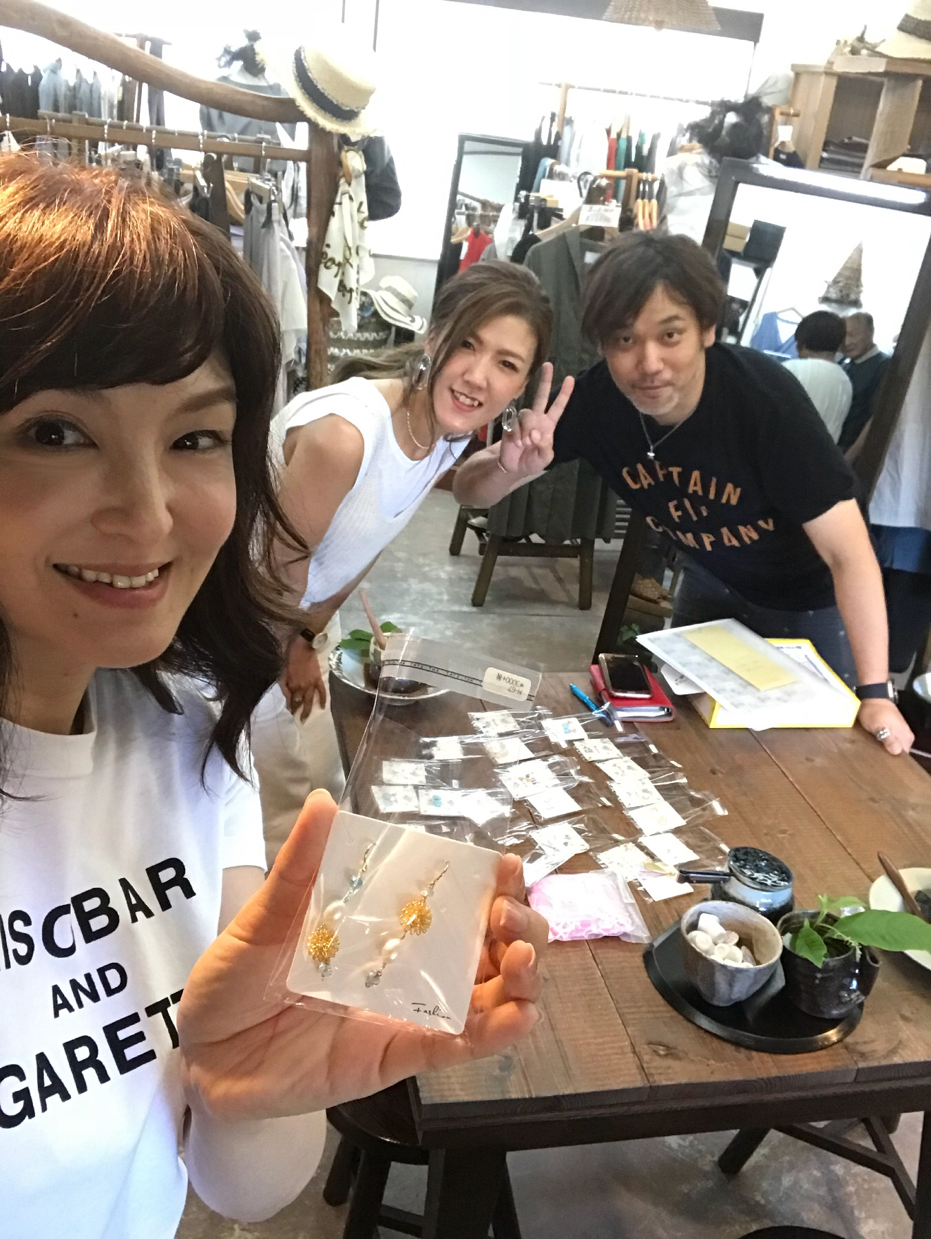 【missRECHARNE(ミスリシャルネ)】新作を持って熊谷へ♡